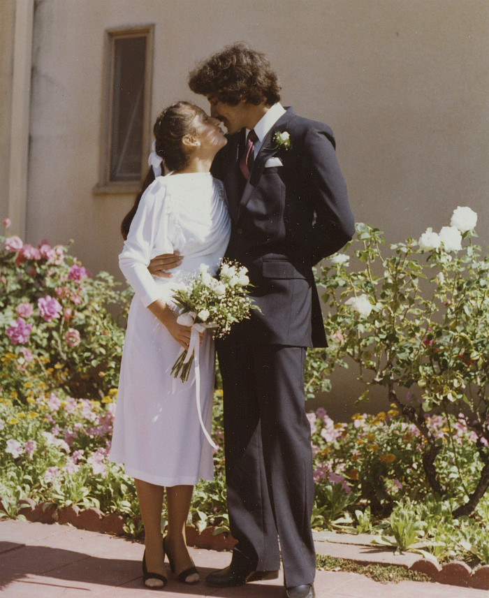 Amelia and Pedro Ceja's Wedding, 1980