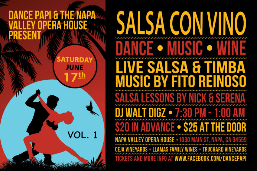 Salsa Con Vino (Vol. 1): June 17th, 2017