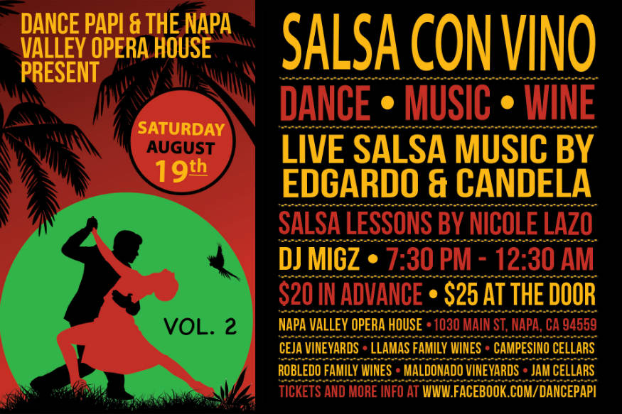 Salsa Con Vino (Vol. 2): August 19th, 2017