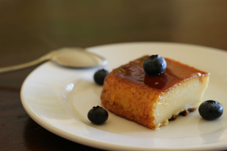 Almond Flan Recipe by Ceja Vineyards