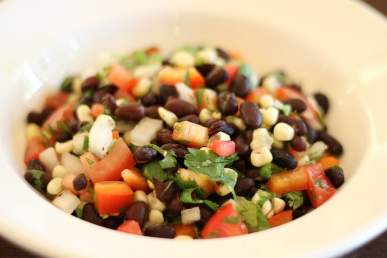 Black Bean and Corn Salad Recipe by Ceja Vineyards