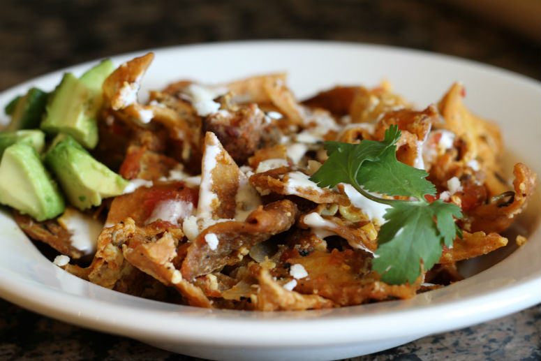 Chilaquiles Recipe by Ceja Vineyards