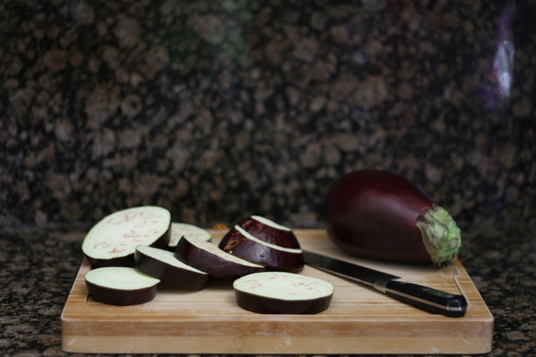 Eggplant Tacos with Spicy Yogurt Salsa Recipe by Ceja Vineyards