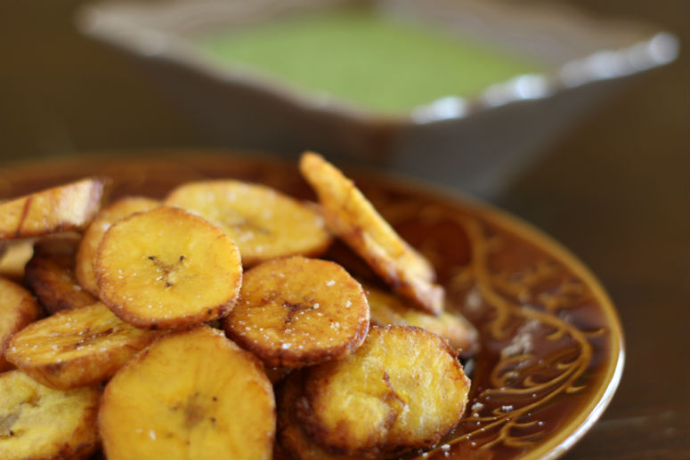 Fried Plantains or Tostones Recipe by Ceja Vineyards