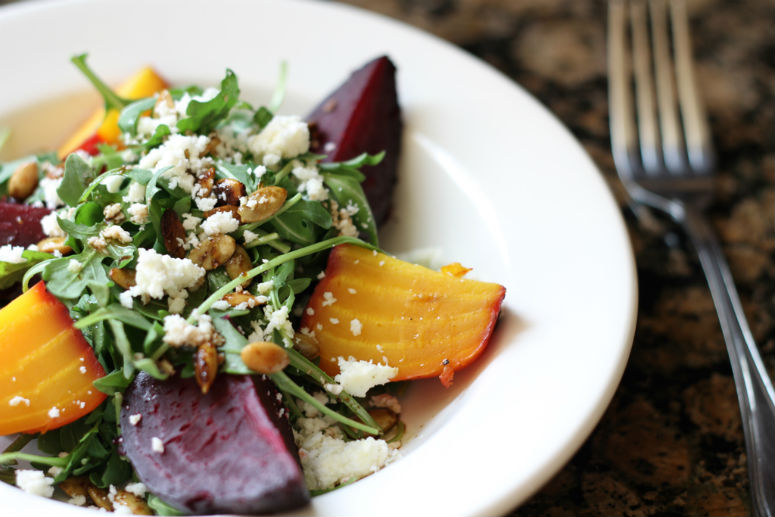 Roasted Beet Salad Recipe by Ceja Vineyards