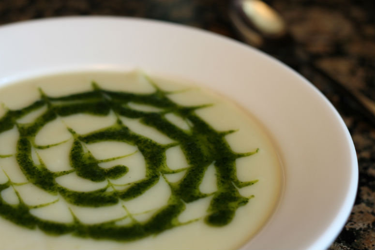 Spicy Cauliflower Soup Recipe by Ceja Vineyards