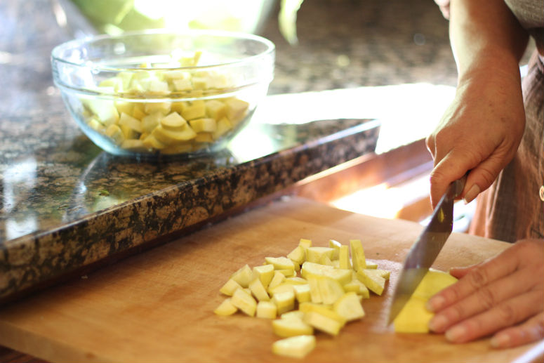 Succotash of Summer Squash and Corn Recipe by Ceja Vineyards