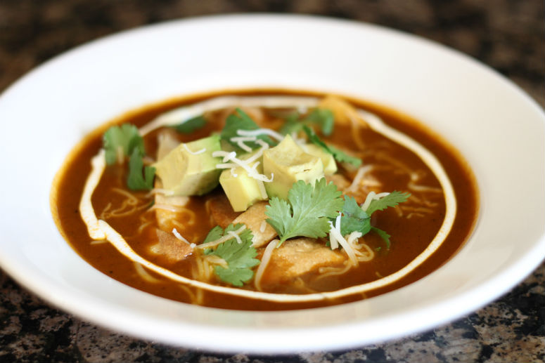 Tortilla Soup Recipe by Ceja Vineyards